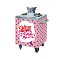 Cart for cotton candy machine TTM
