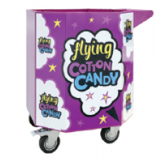 Cotton candy trolley, octagonal